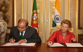 Portugal signs the Memorandum of Understanding on the Establishment of Nalanda University