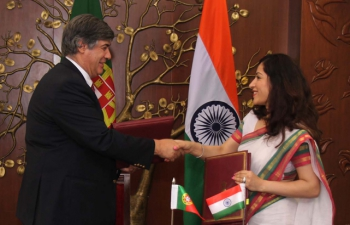 India has signed an Agreement on Gainful  employment of diplomatic spouses between India and Portugal on July 8, 2016 in New Delhi. Agreement was signed by Ambassador of Portugal  in New Delhi and  and Joint Secretary (Europe West) from Ministry of  External Affairs, Govt. of India.