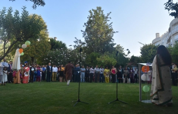 Embassy of India Lisbon celebrated the 70th Independence day