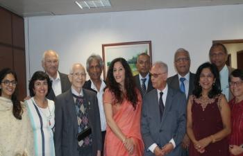Ambassador's Visit to Casa de Goa
