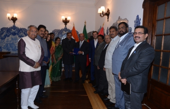 Visit of Indian Parliamentary Goodwill Delegation to Portugal from 16 – 19 October, 2016