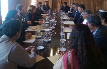 Parliamentary Goodwill Delegation meets with Portuguese Secretary of State for European Affairs Her Excellency Margarida Marques
