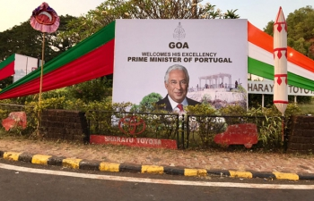 Visit of Prime Minister of Portugal H.E. António Costa to India (January 07-12 Jan 2017) - Visit to Goa (January 11-12, 2017)
