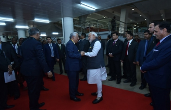 Visit of Prime Minister of Portugal H.E. António Costa to India (January 07-12 Jan 2017) - Vibrant Gujarat 2017 in Gandhinagar (January 10, 2017)