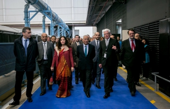 Inauguration of Sakthi Automotives Plant in Agueda by Portuguese Prime Minister and Ambassador of India to Portugal