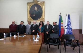 Inauguration of the Asian Cultural Week in the University of Lisbon