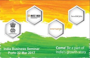 India Business Seminar, Porto 22.03.2017