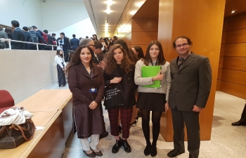 Annual Model United Nations Conference by Carlucci American International School of Lisbon (10.11.2017)
