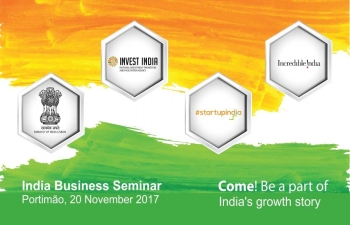 India Business Seminar in Portimão (20.11.2017)