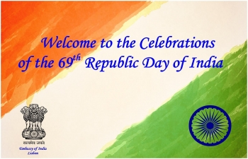 Celebrations of the 69th Republic Day of India - Evening Reception