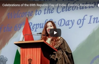 Celebrations of the 69th Republic Day of India - Evening Reception (26.01.2018)