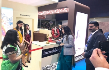 Ambassador inaugurates Incredible India Tourism stand at BTL 2018 Fair (28.02.2018)