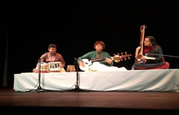 Hindustani Classical Music Concert by Shri Partho Sarothy Chowdhury at Orient Foundation in Lisbon (17.03.2018)