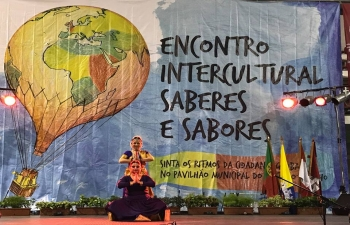Indian Dance and Yoga at Knowledge and Flavours Intercultural Festival, Seixal City Council (13-14 April 2018)