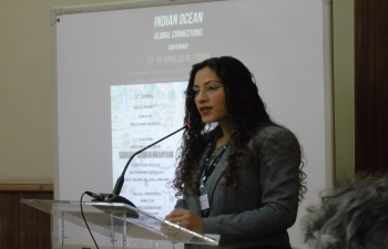 Indian Ocean: Global Connections' Conference, University of Lisbon, 17-18 April 2018
