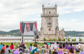 Celebration of 4th International Day of Yoga, Lisbon, June 21, 2018