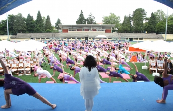 International Day of Yoga 2018 celebration in Porto