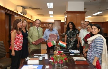 MoU signed between FSSAI and ASAE (07.09.2018)