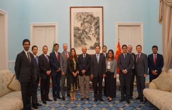Ambassador attends Asian Group Dinner (04.09.2018)