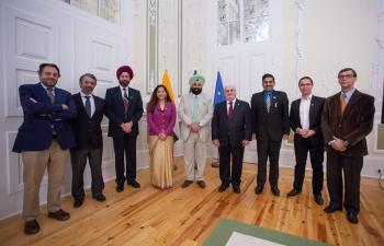 Visit of Minister Shri. Sukhbinder Singh Sarkaria to Portugal