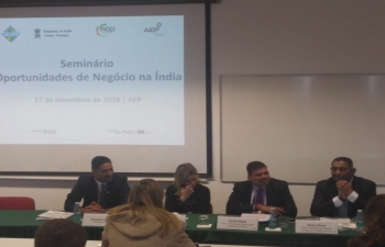 Visit of FICCI-FIEO delegation to Portugal