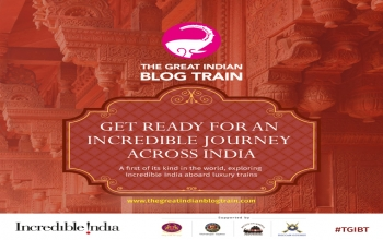 "Invitation to participate in ""The Great India Blog Train"" - India Tourism Paris"