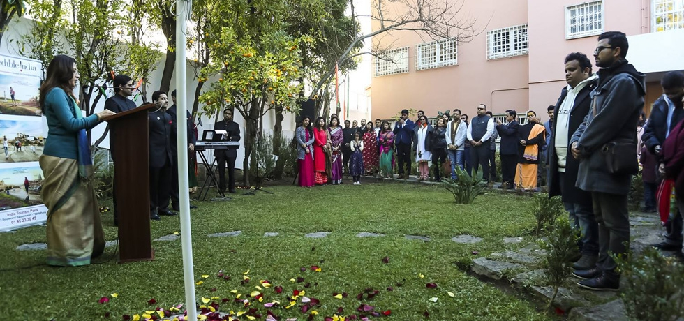 Glimpses of Celebrations of 70th Republic Day of India (26.01.2019)