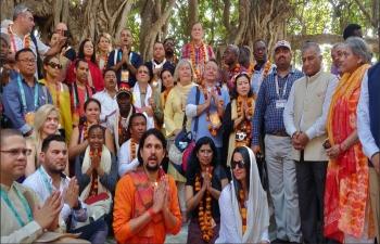 Visit of Portuguese MP Dr. Pedro Delgado Alves to Kumbh Mela