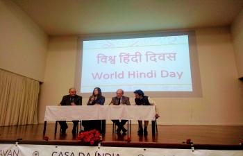 Glimpses of World Hindi Day Celebrations at Faculdade de Letras da Universidade de Lisboa ( FLUL) (25.02.2019)