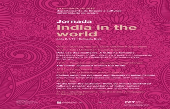 Seminar 'India in the World' at University of Aveiro (26.03.2019)