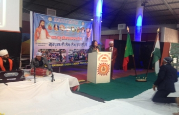 Celebrating 642nd birth anniversary of Saint Shri Guru Ravidas Ji (31.03.2019)
