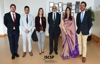 Presentation on India at Instituto Superior de Ciências Sociais e Políticas (09.04.2019)