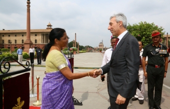 Visit of Portuguese Defence Minister to India (17-18 April 2019)