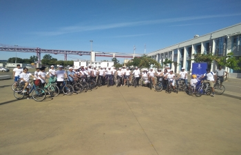 Celebrating 150 years of the Mahatma: Gandhi Cycle Event in Lisbon (02.06.2019)