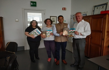 Celebrating 150 years of the Mahatma : Outreach to the Portuguese Schools (04.06.2019)