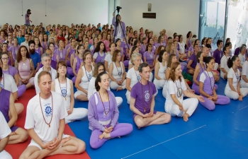 Glimpses of celebrations of the 5th International Day of Yoga in Lisbon (23.06.2019)