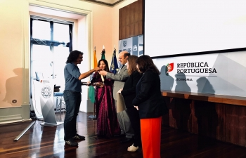 Portugal awards Bollywood director Imtiaz Ali (11.07.2019)