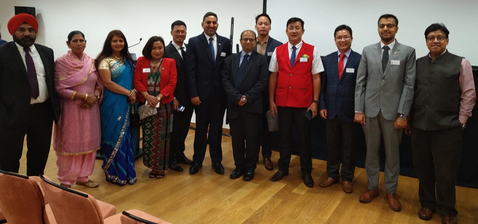 Incredible India Road Show Organized in Lisbon in association of India Tourism Office Frankfurt. The event was attended by Hon´ble Minster of Tourism for the State of Arunachal Pradesh Shri Nakap Nalo, delegation from the state of Karnataka and Delhi (17.10.2019)