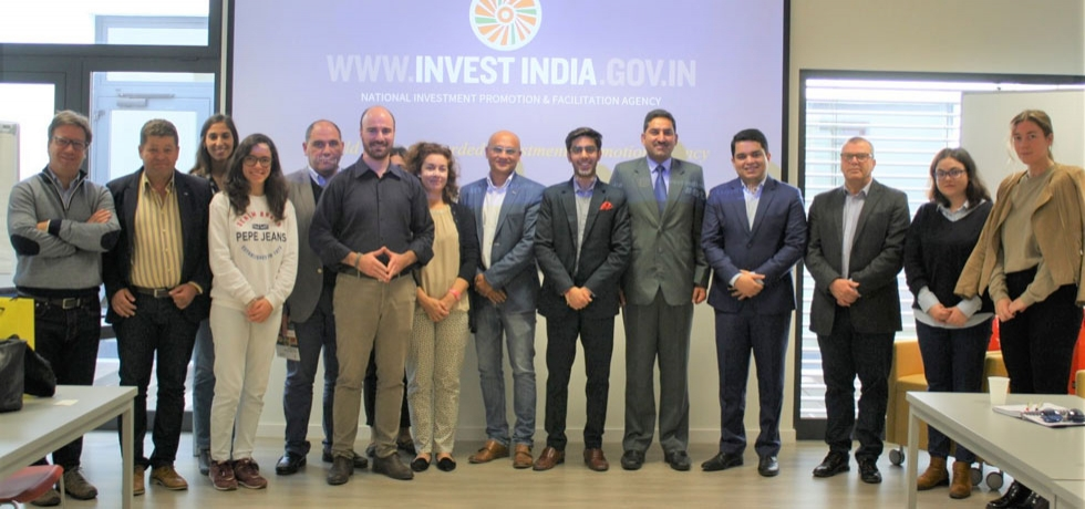 A 2-member Invest India delegation visited PACT (Parque do Alentejo de Ciência e Tecnologia) in Evora to discuss a possible institutional tie-up between PACT and Invest India in Startup sector (4.11.2019).