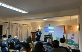 Pravasi Bharatiya Celebrations at Ambassador's Residence ( 9.01.2020)