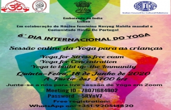 Celebration of Yoga through virtual events #IDY2020