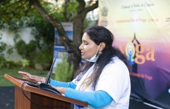 Glimpses of 6th International Day of Yoga Celebrations -2020