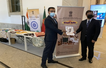 Promotion of Khadi at the 56th edition of Modtissimo in Porto (23.09.2020)