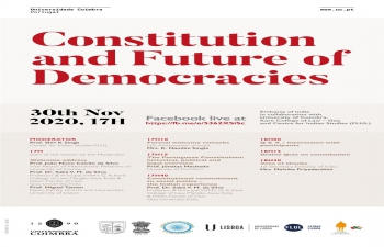 Constitution Conference, 30 Nov 2020 at 16H45 PM Lisbon / London time (22H15 in India)
