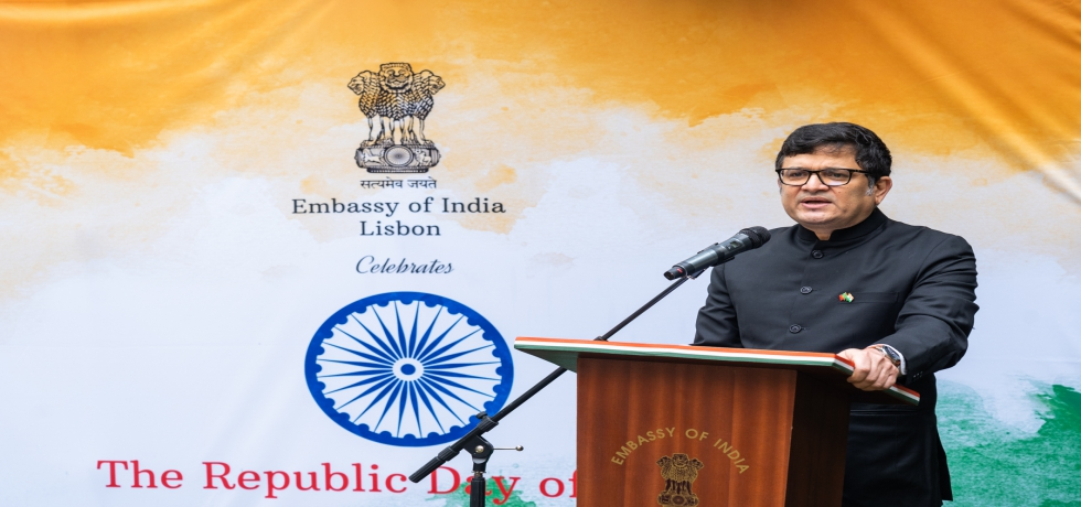 Speech by Ambassador Manish Chauhan on 72nd Republic Day of India ( 26.01.2021)