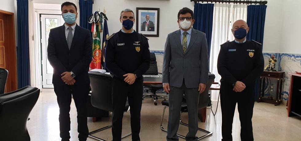 Ambassador met the National director of PSP ( Polícia de Segurança Pública) Superintendent Manuel Magina da Silva ( 1.04.2021)