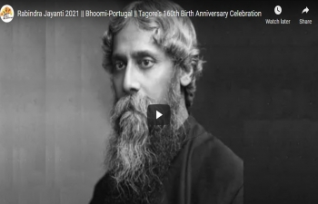 160th Birth Anniversary celebrations of Rabindranath Tagore with Bhoomi Association