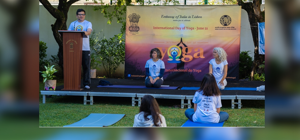 Glimpses of celebration of the 7th international day of Yoga
